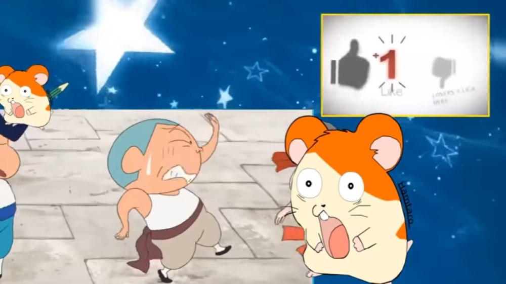 クレヨンしんちゃんの爆裂カンフーボーイズのYouTube画面